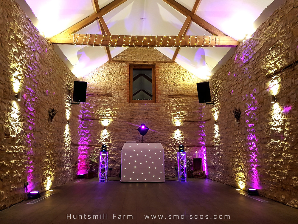 Wedding Disco at Huntsmill Farm