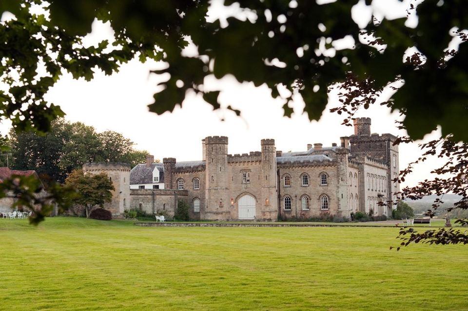 Chiddingstone Castle Wedding Day