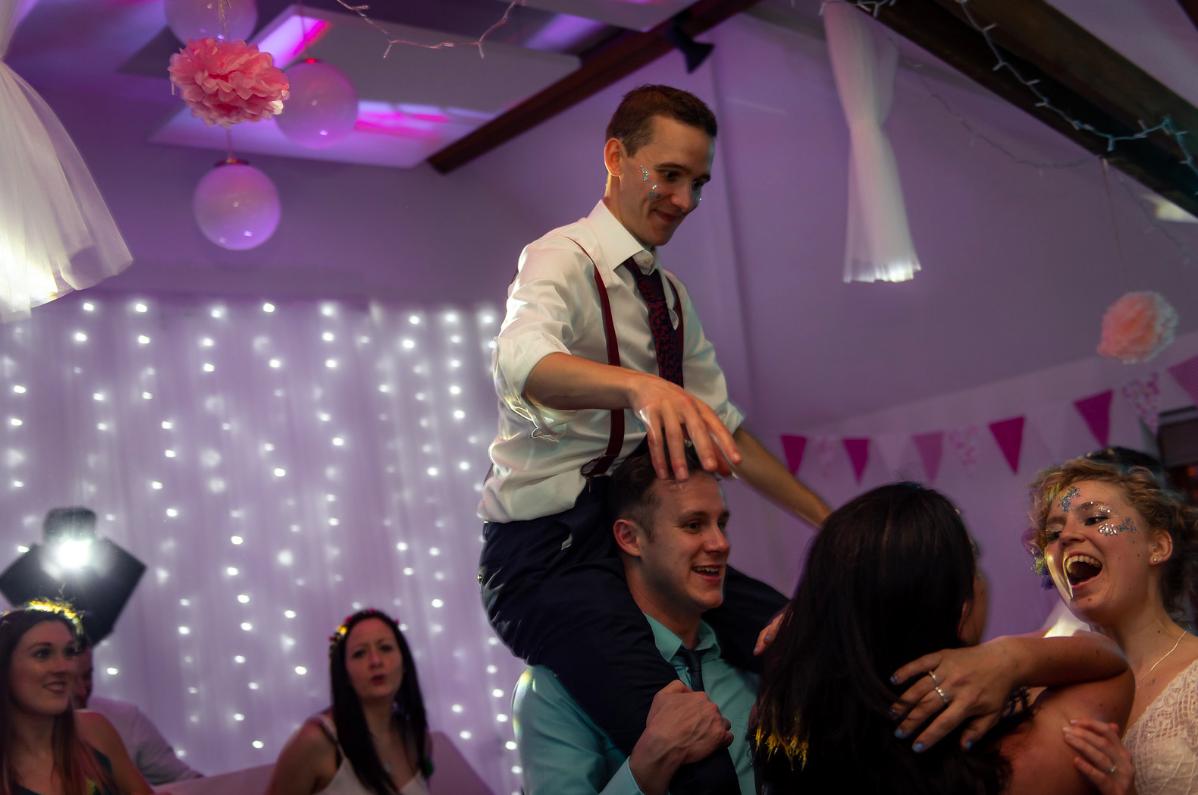 Thame barns Centre Wedding DJ Hire