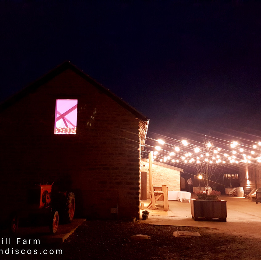 Huntsmill Farm wedding Bucks