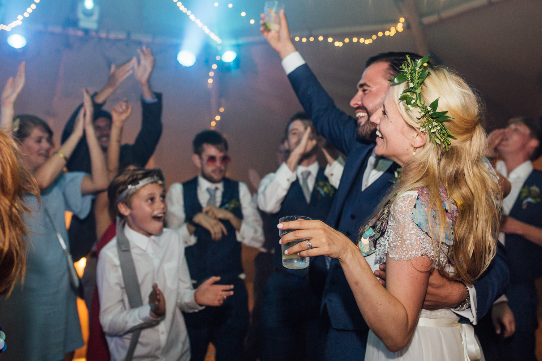 Festival style wedding DJ