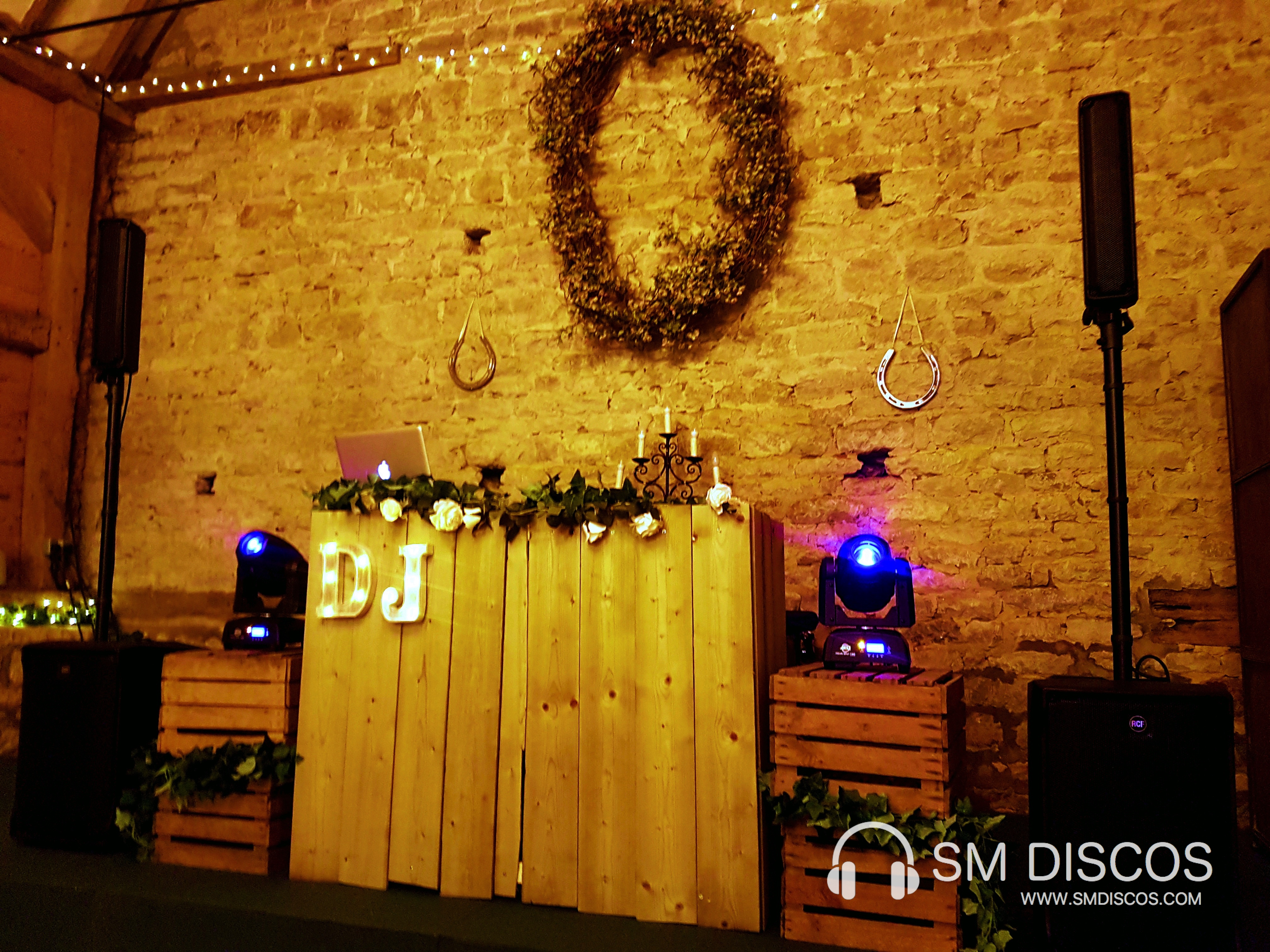 Woodland Rustic Wedding DJ