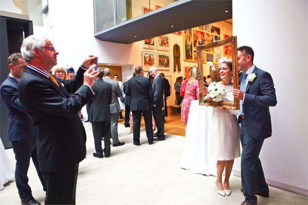 Ashmolean Museum wedding disco