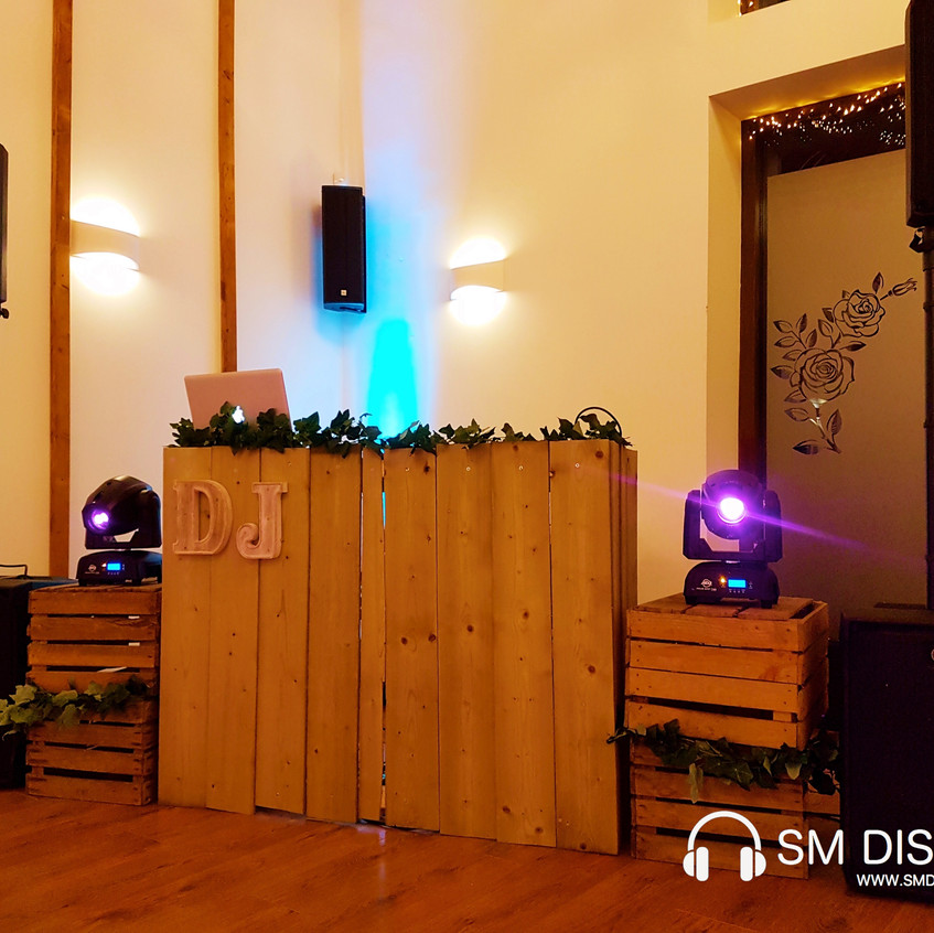 Rustic DJs at Winters Tale Country Barn.