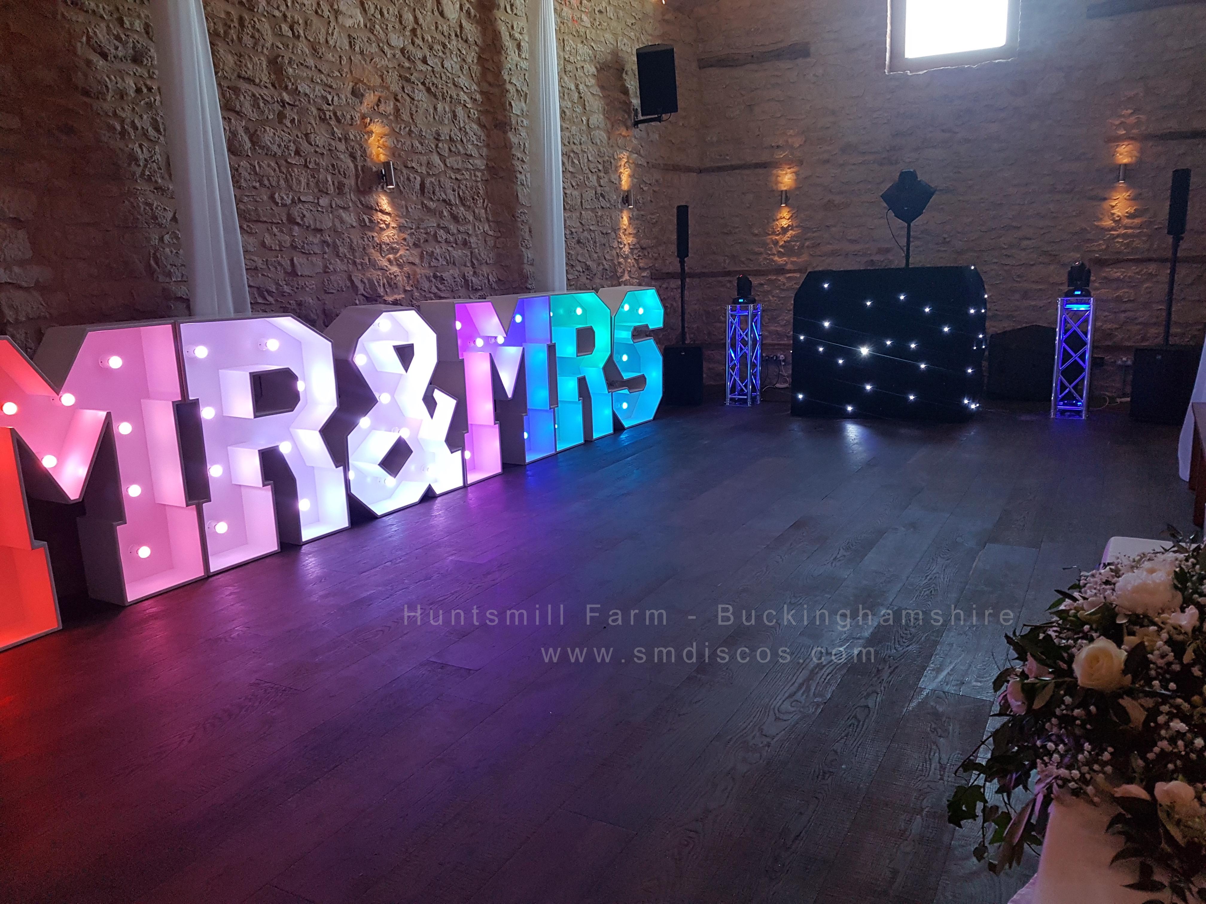 Huntsmill Farm Wedding DJ 2