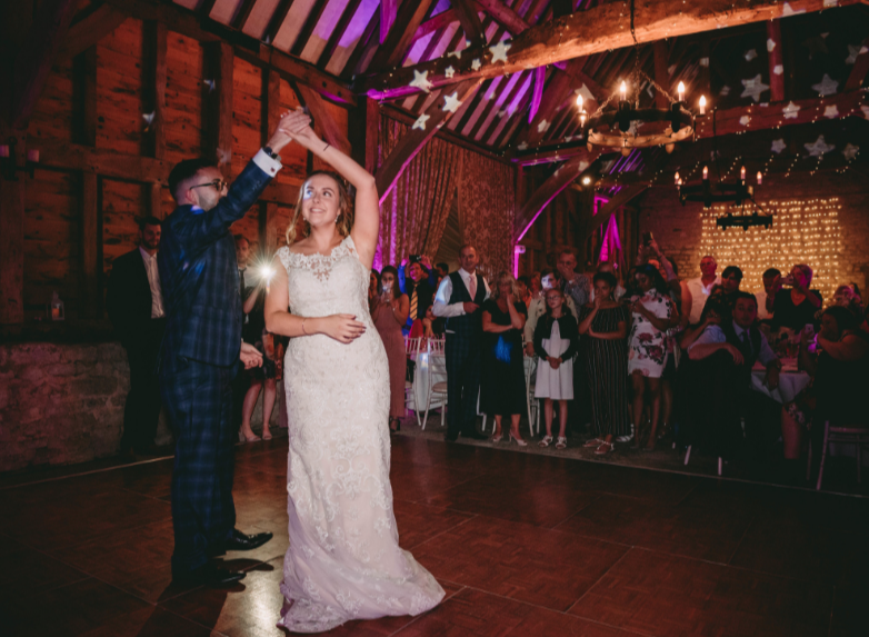 Manor Farm Barn Oxford Wedding DJ 6
