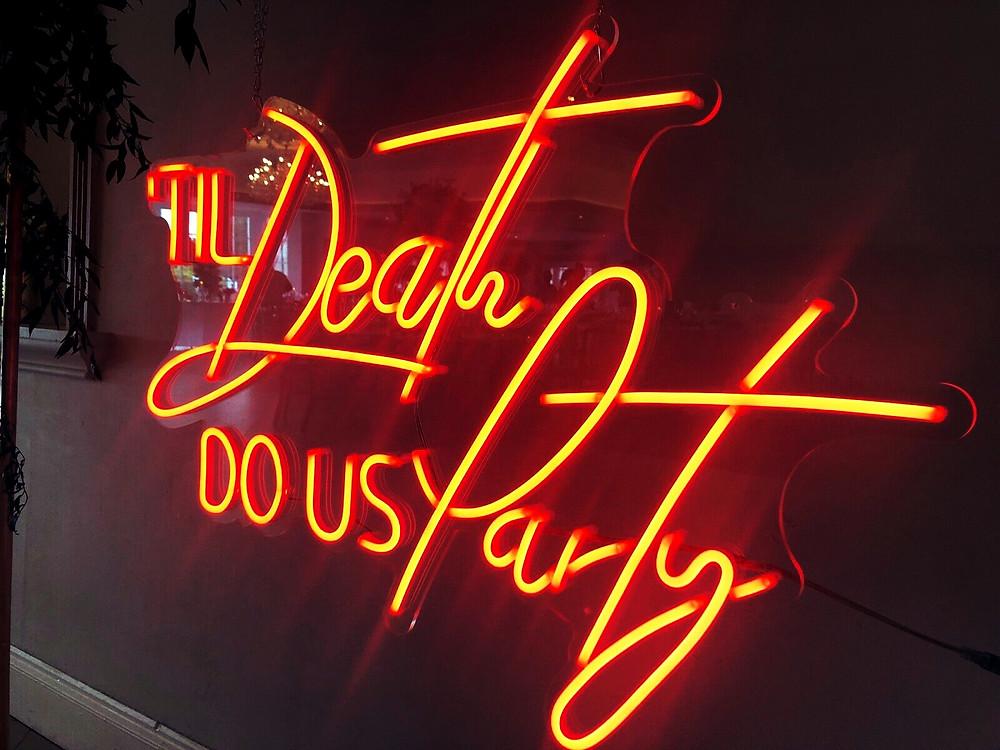 Neon Sign UK Hire