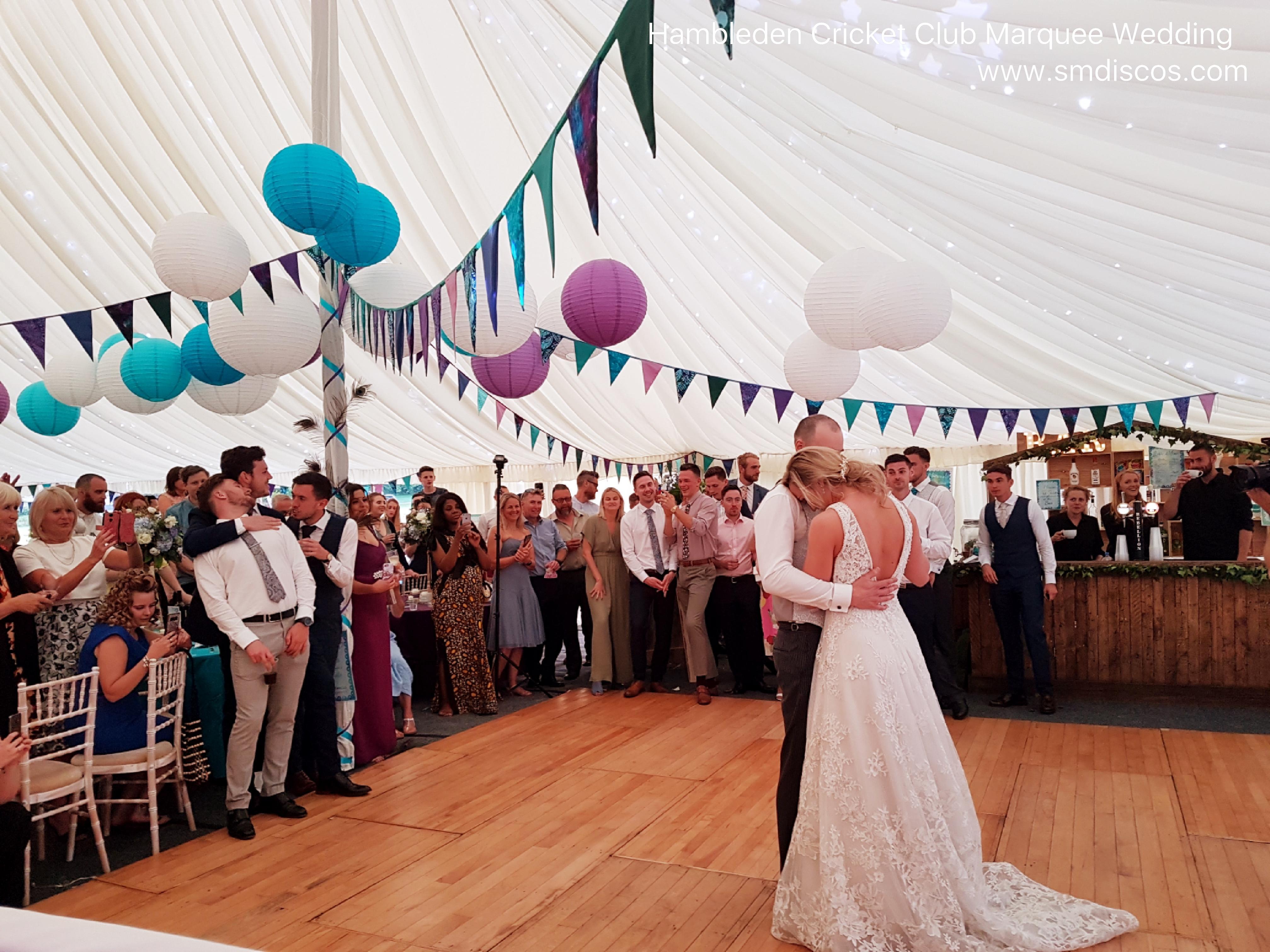 Hambleden Cricket Club First dance