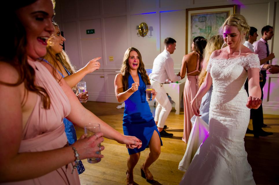 Aylesbury wedding DJ Hampden House