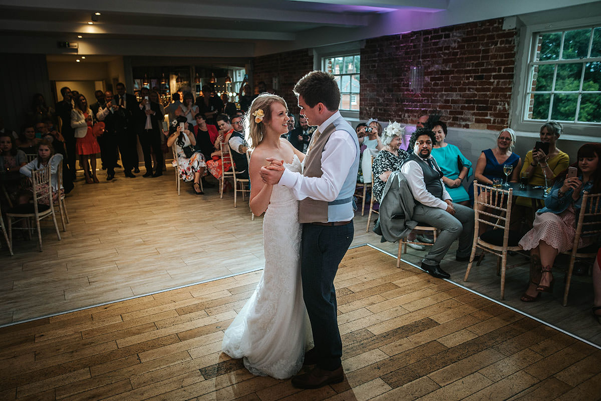 First dance at Sopley Mill
