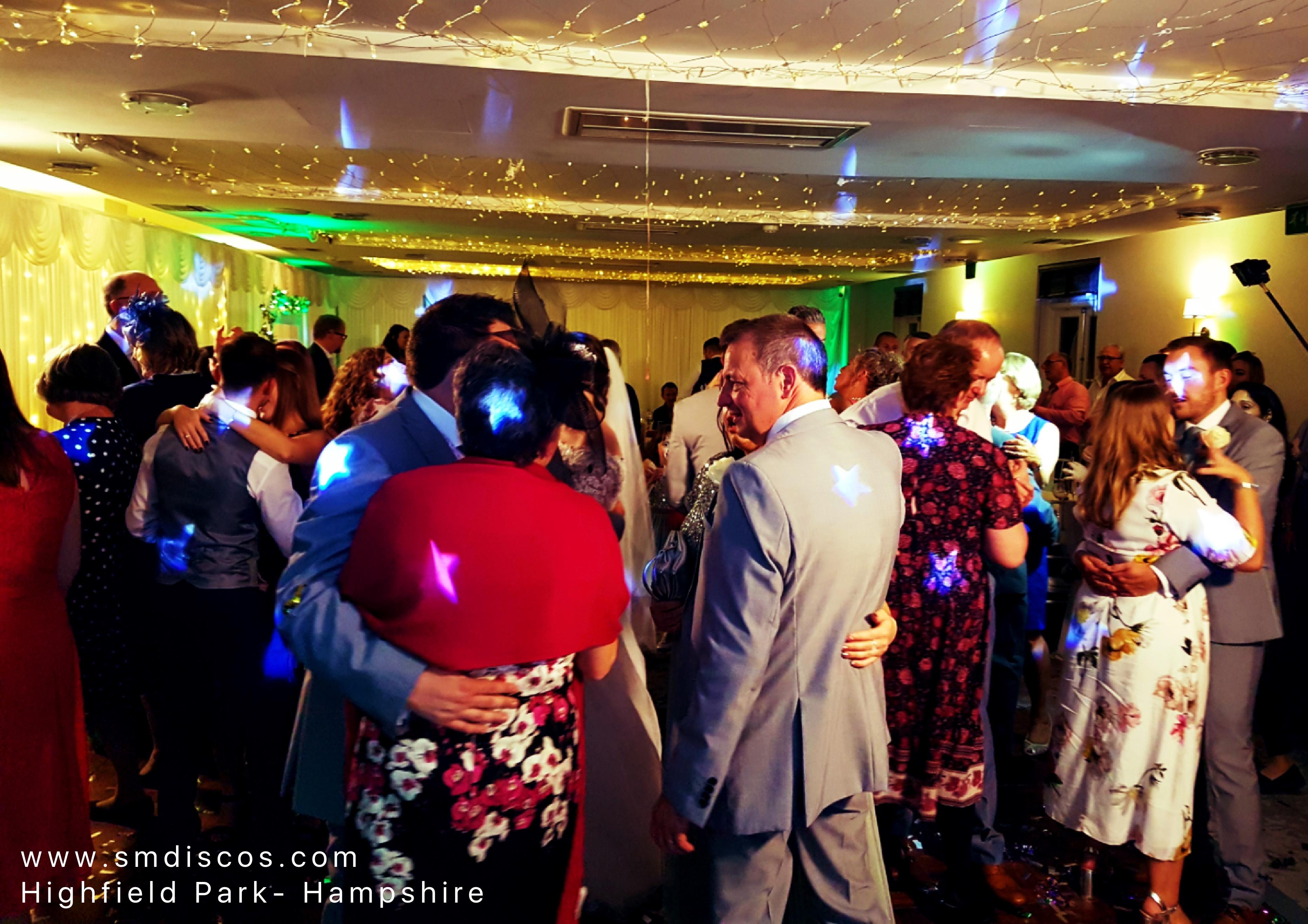 Hampshire wedding DJS
