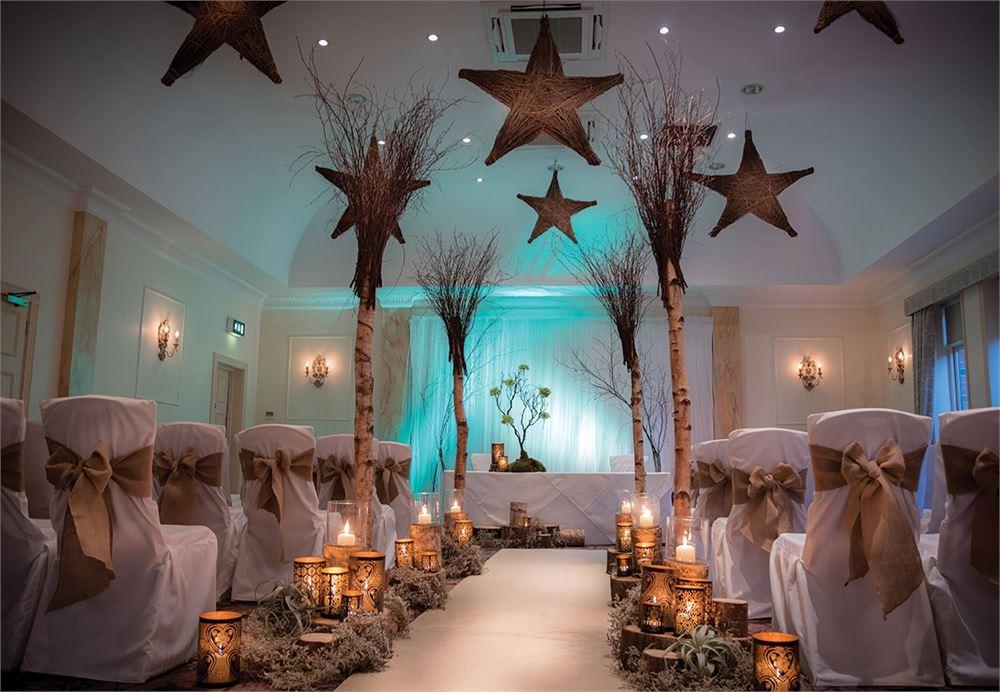 Careys Manor Hotel wedding photo