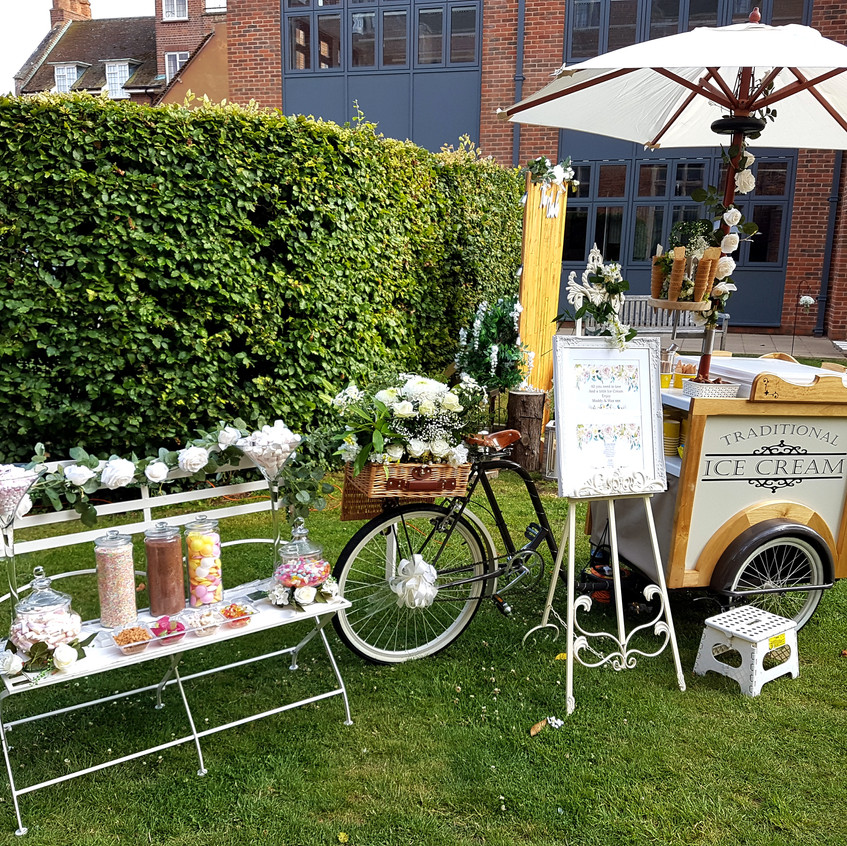 sweet cart and wedding ice cream dorton
