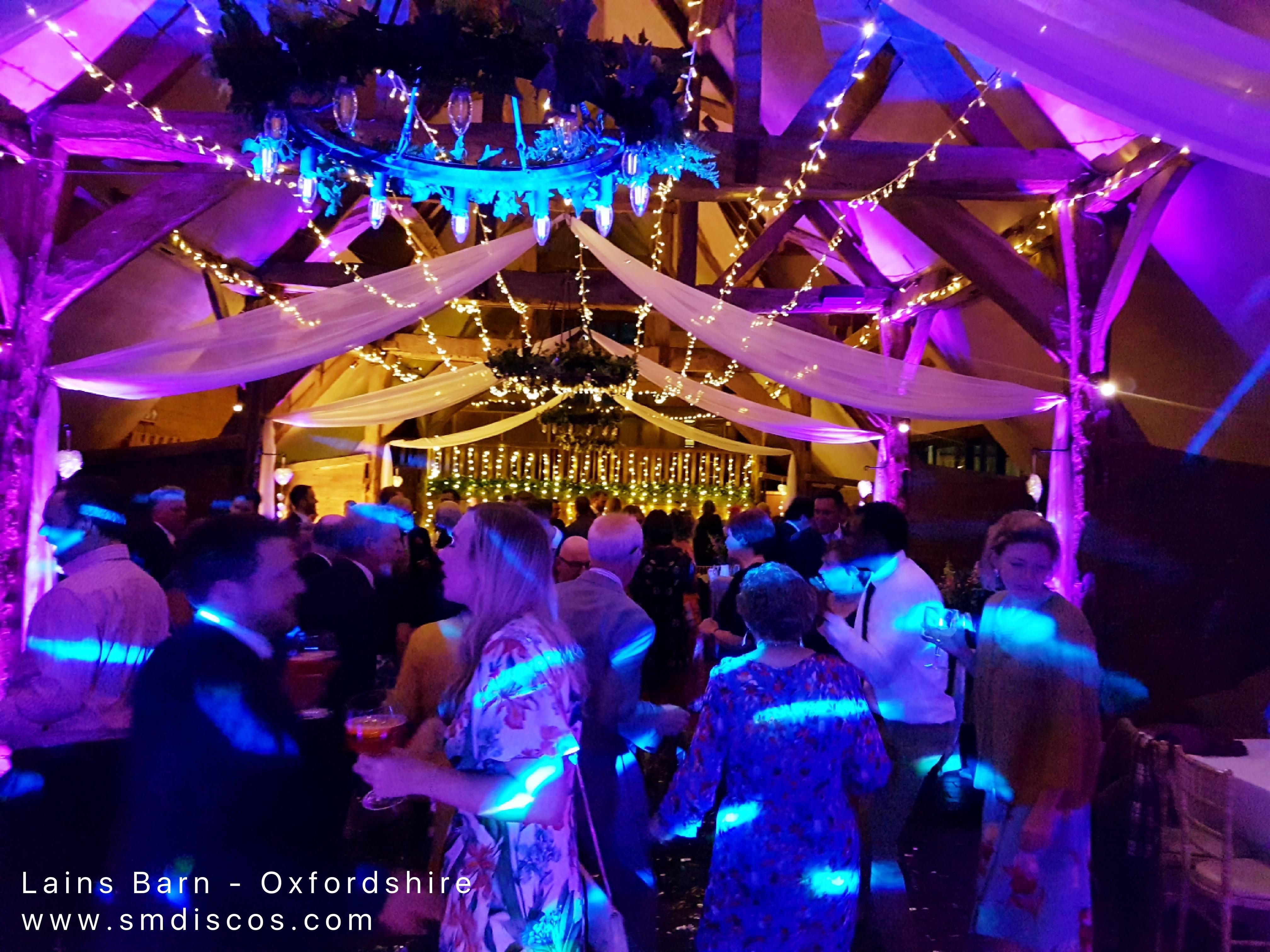 oxford wedding dj lains barn