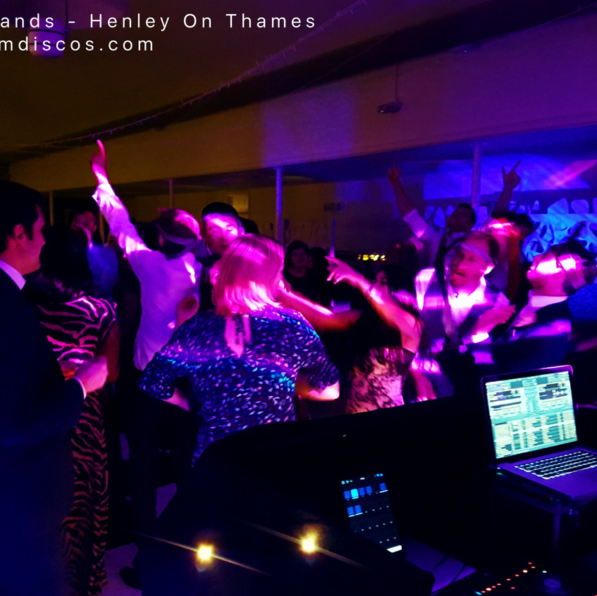 Henley wedding disco