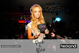 Djing with lauren pope from Towie