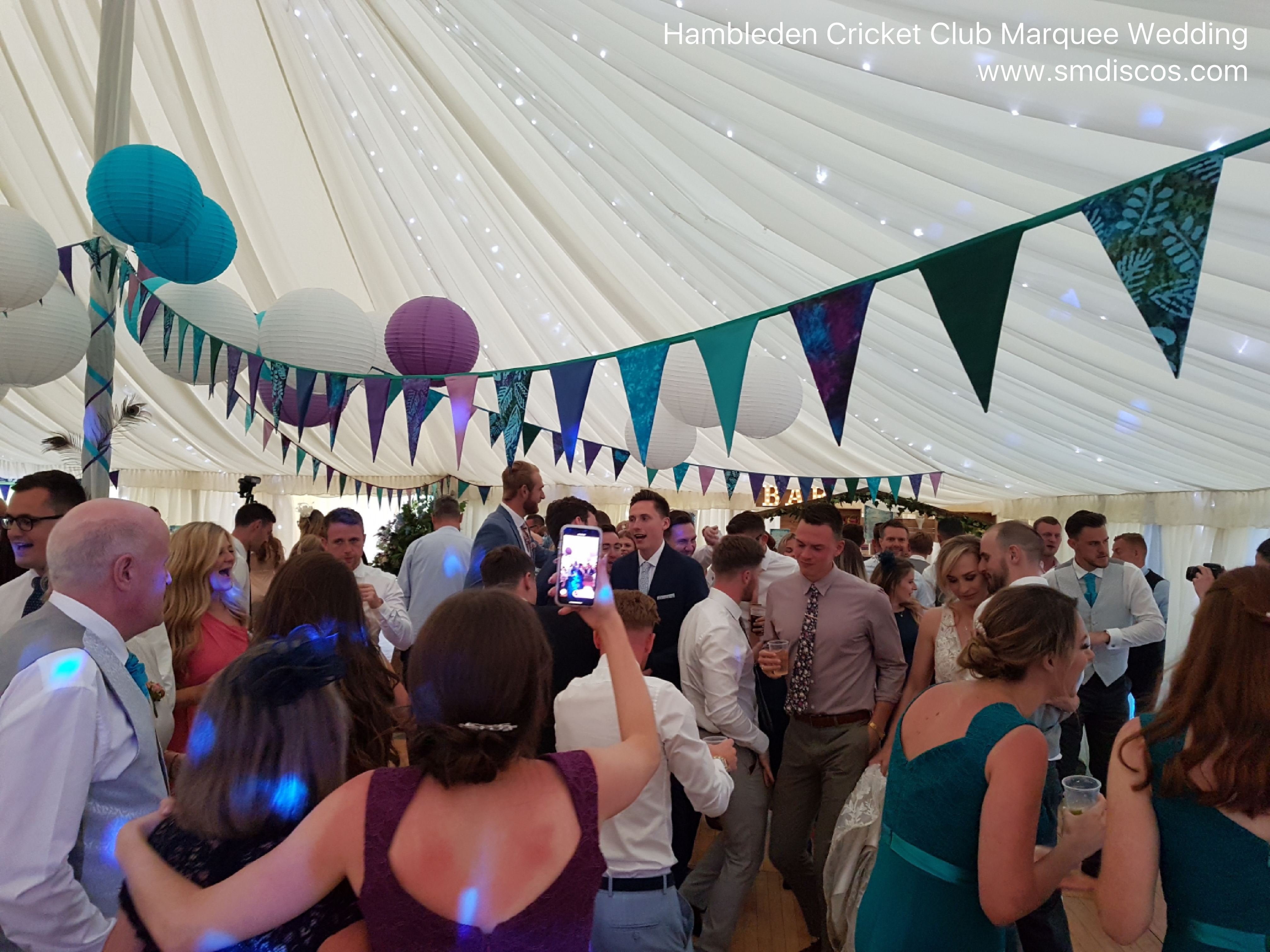 Hambleden Cricket Club Marquee Weddings.