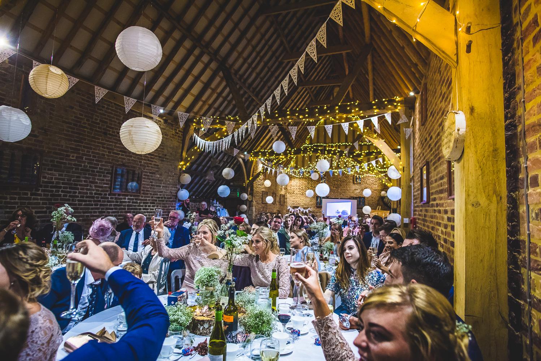 The Thatch Barn Yelling Wedding DJ