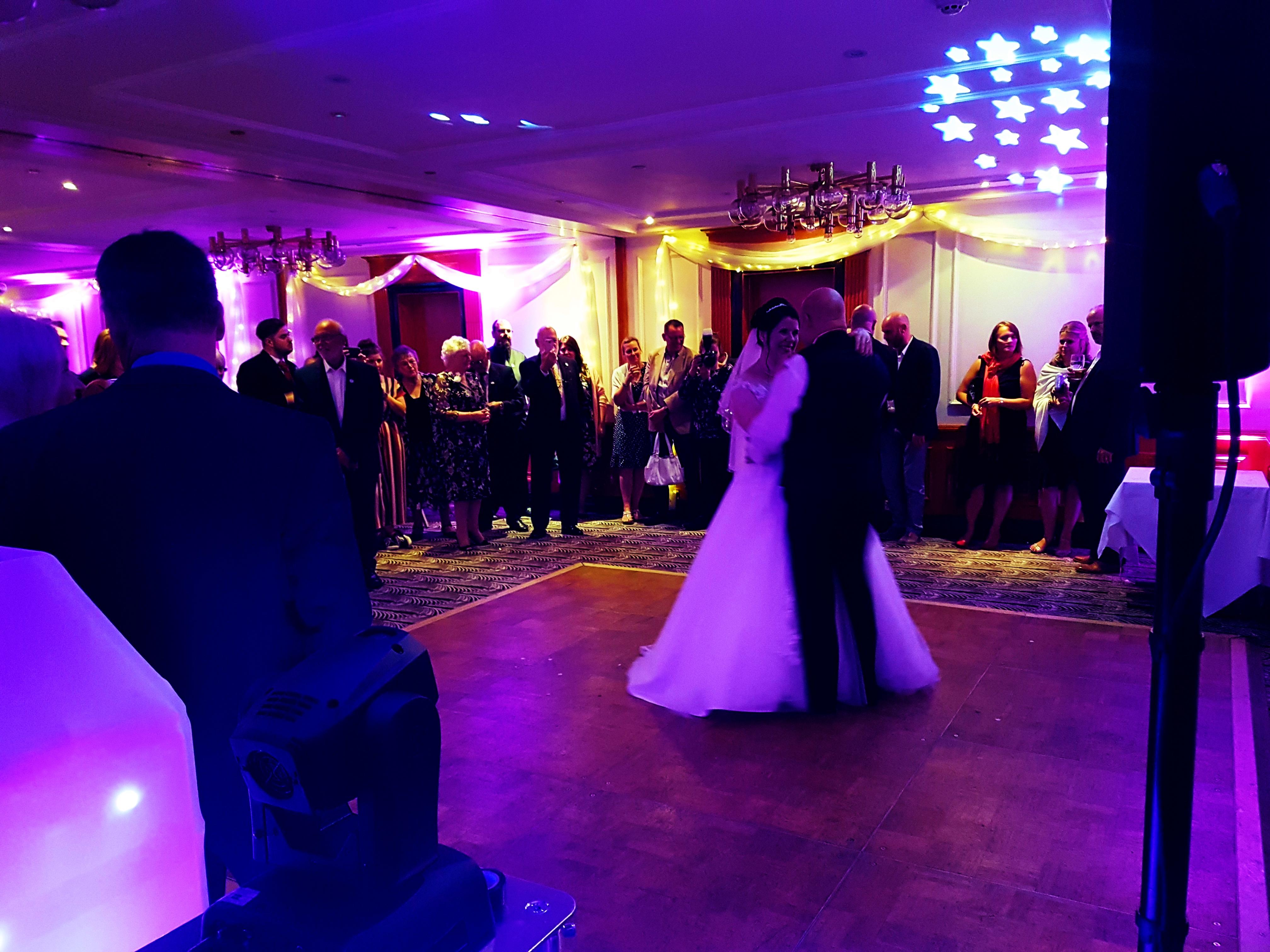 wedding dj Fredricks Hotel & Spa