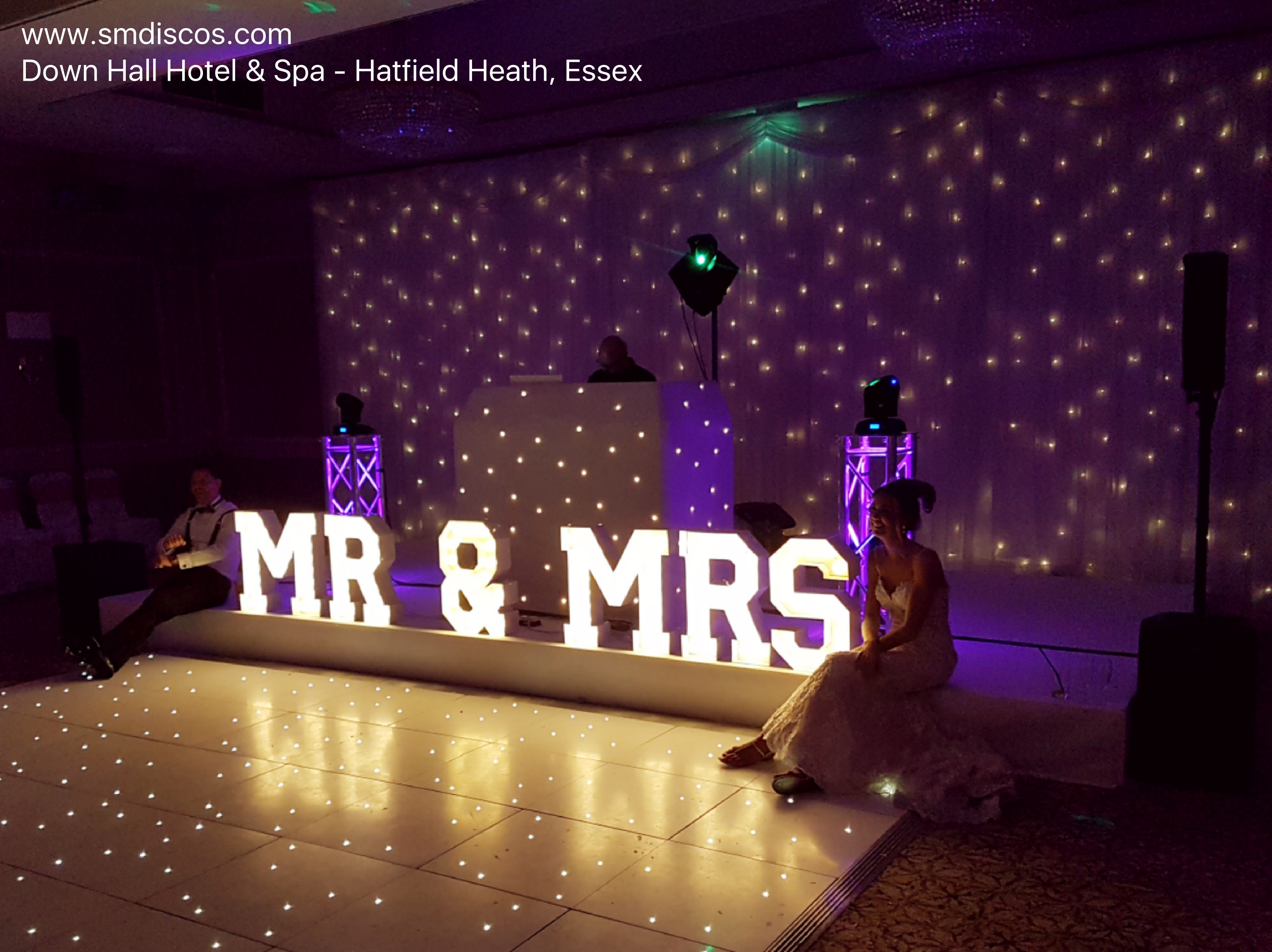 DJs for Down Hall Hotel and Spa