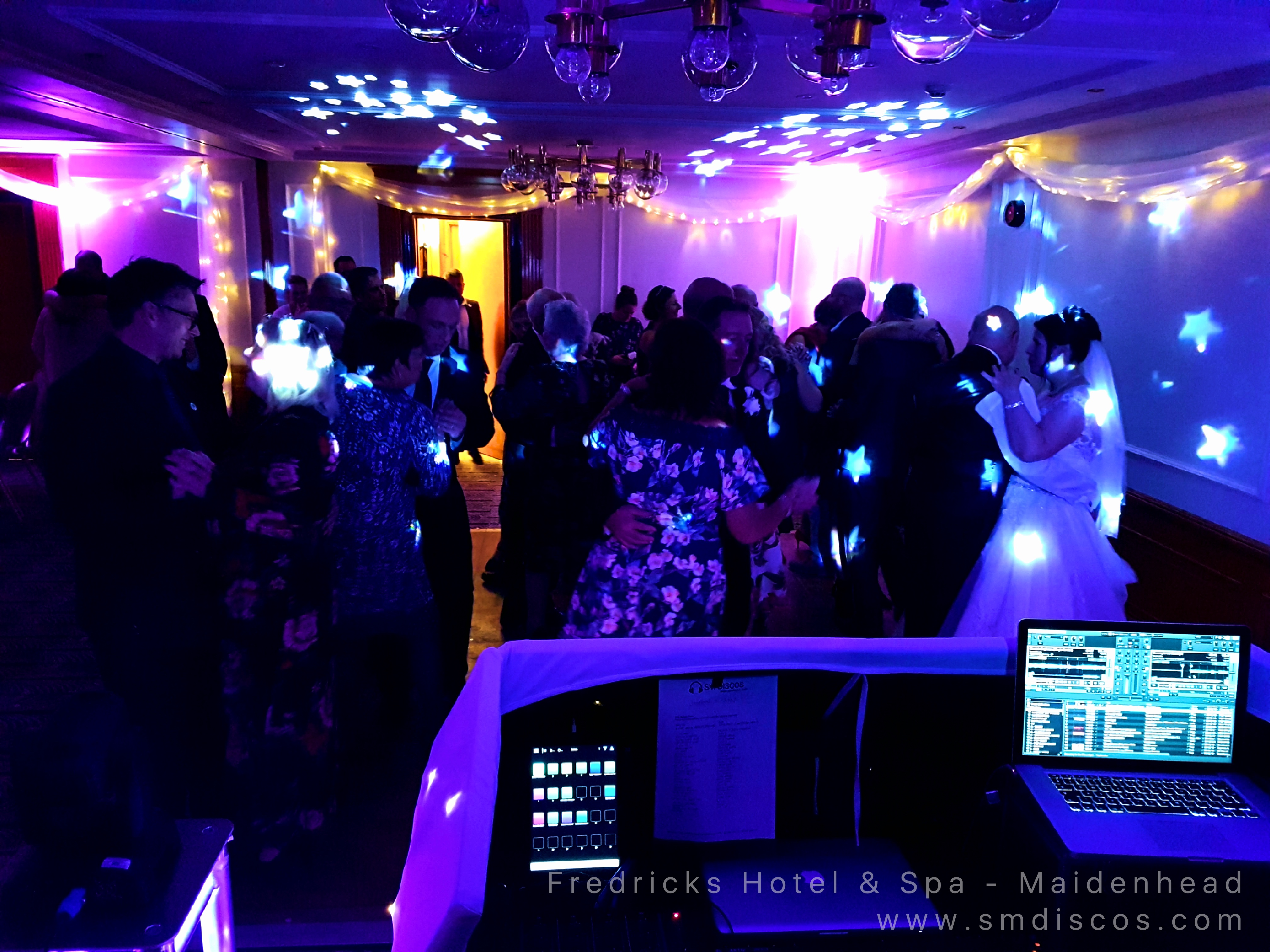 Wedding disco Fredricks Hotel