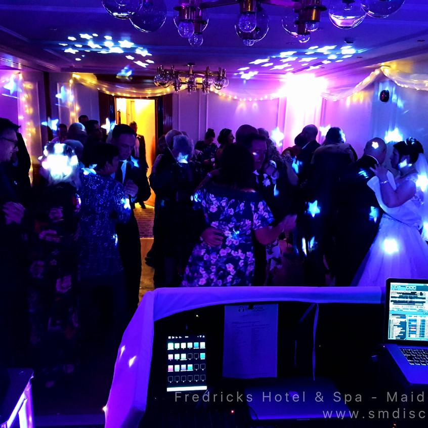 Wedding disco Fredricks Hotel