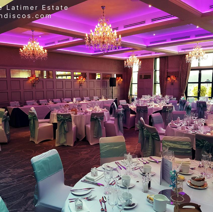 Wedding De Vere Latimer Estate DJ