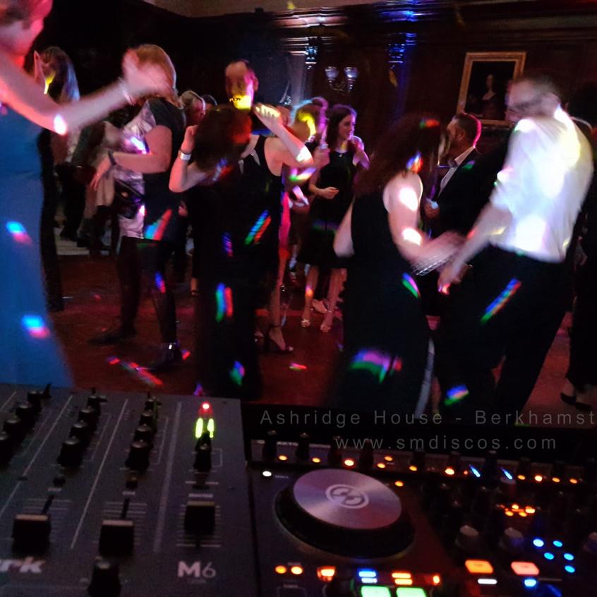 the dancefloor at ashridge house sm discos