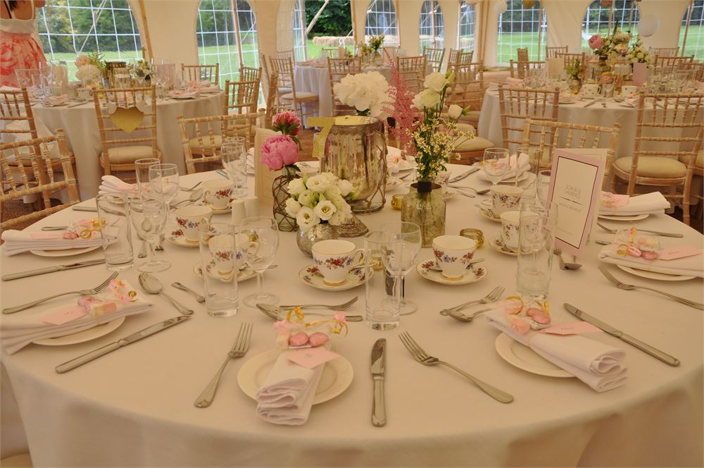 Marquee at Eggington House