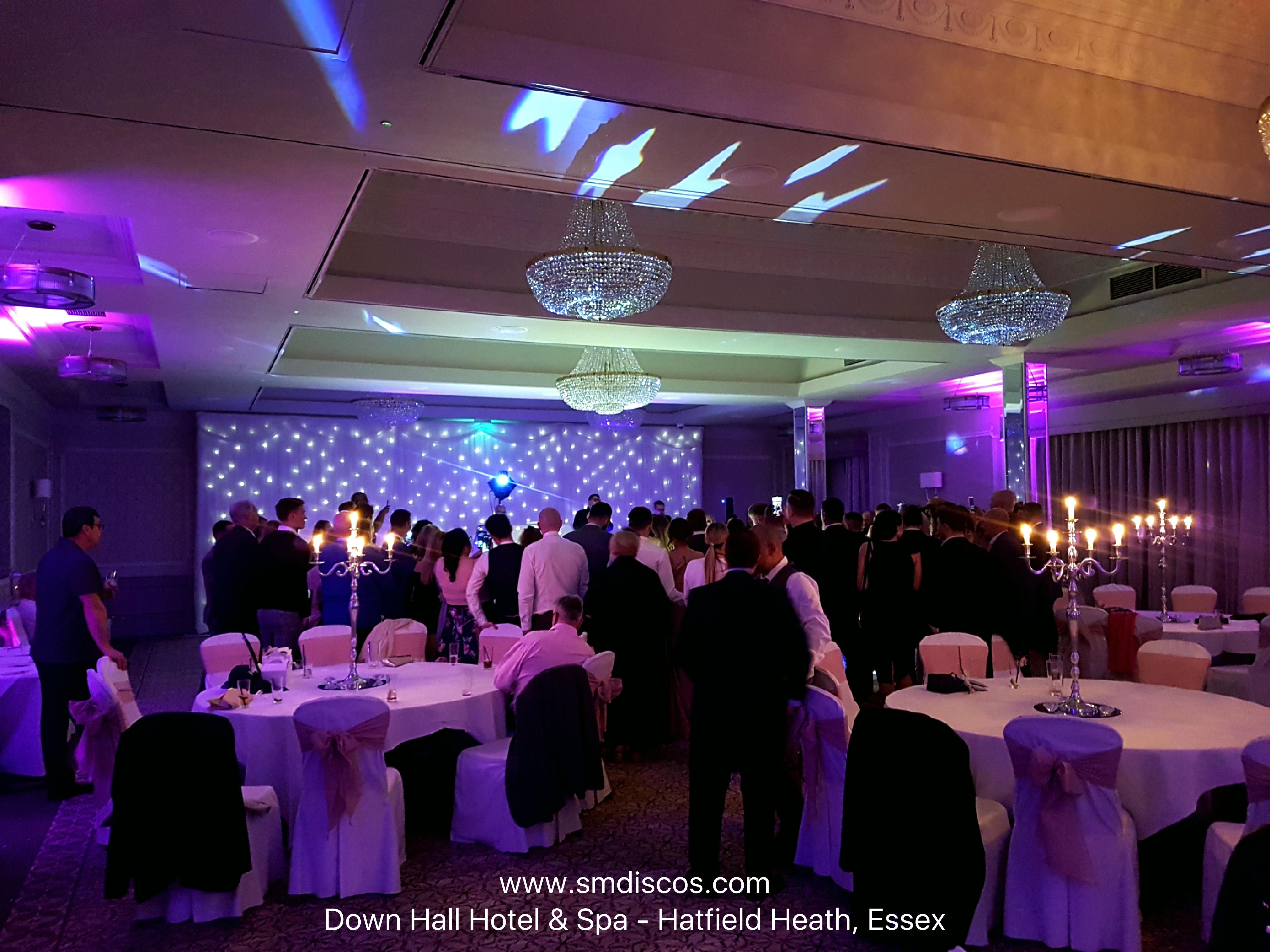 Wedding Disco at Down Hall Hotel Essex