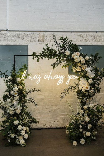 It was always you neon light hire Marlow