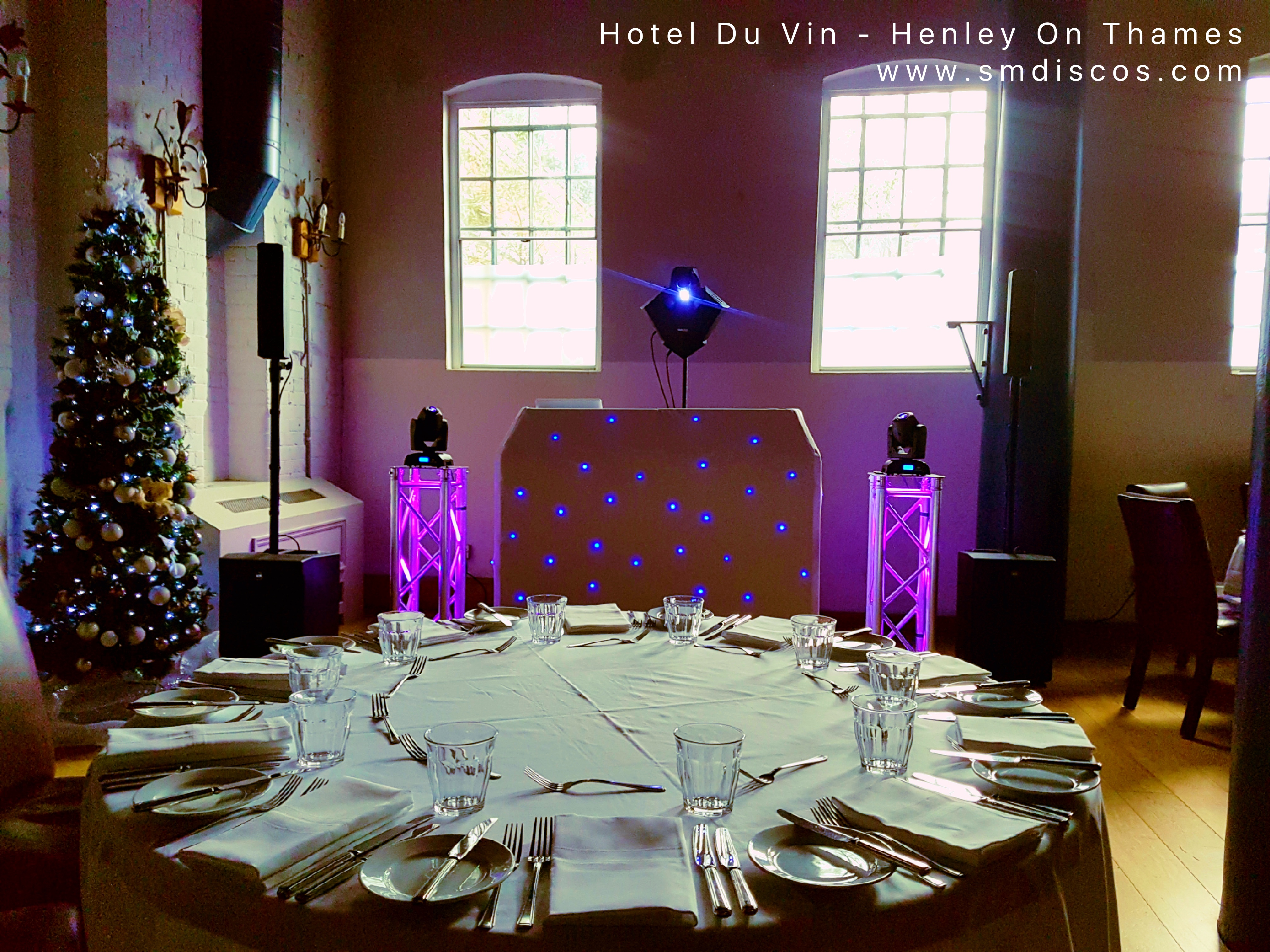 Xmas party at Hotel Du Vin