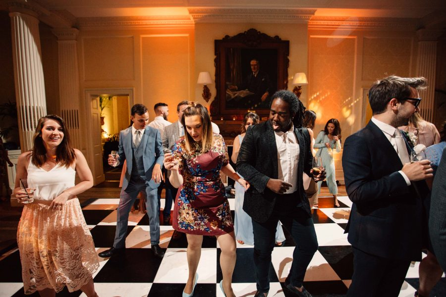 Dancing at Hedsor House Wedding