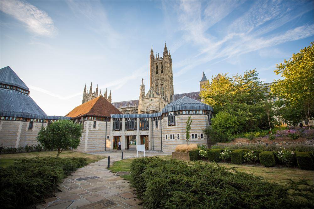 Wedding day at Canterbury Cathedral Lodg