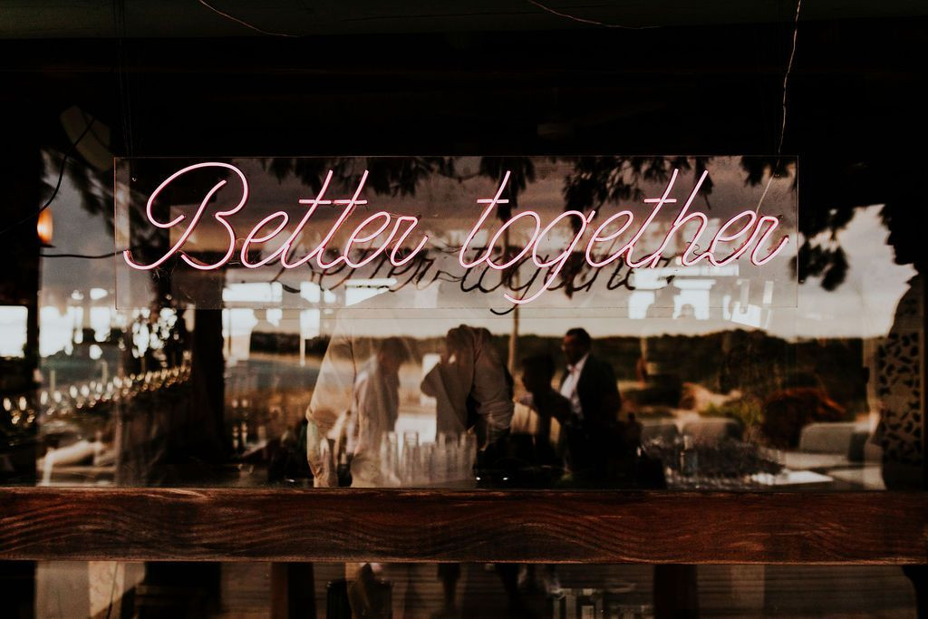 better together neon