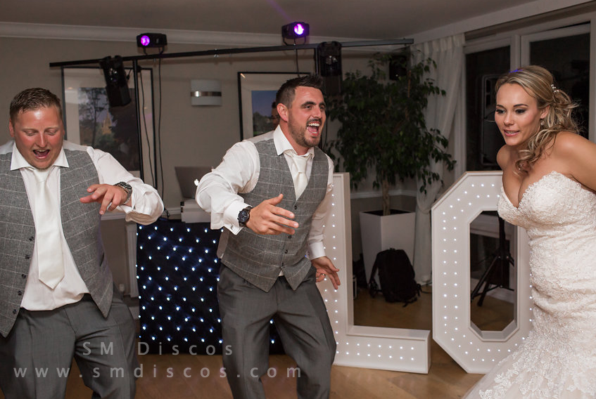 oxford wedding dj - sm discos at westwood hotel oxford