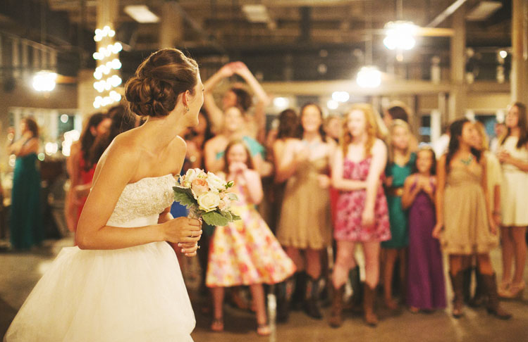 Perfect songs for your bouquet toss!