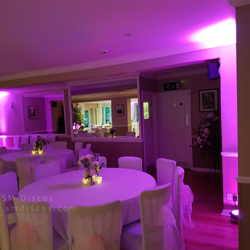 Westwood Hotel Oxford mood lighting