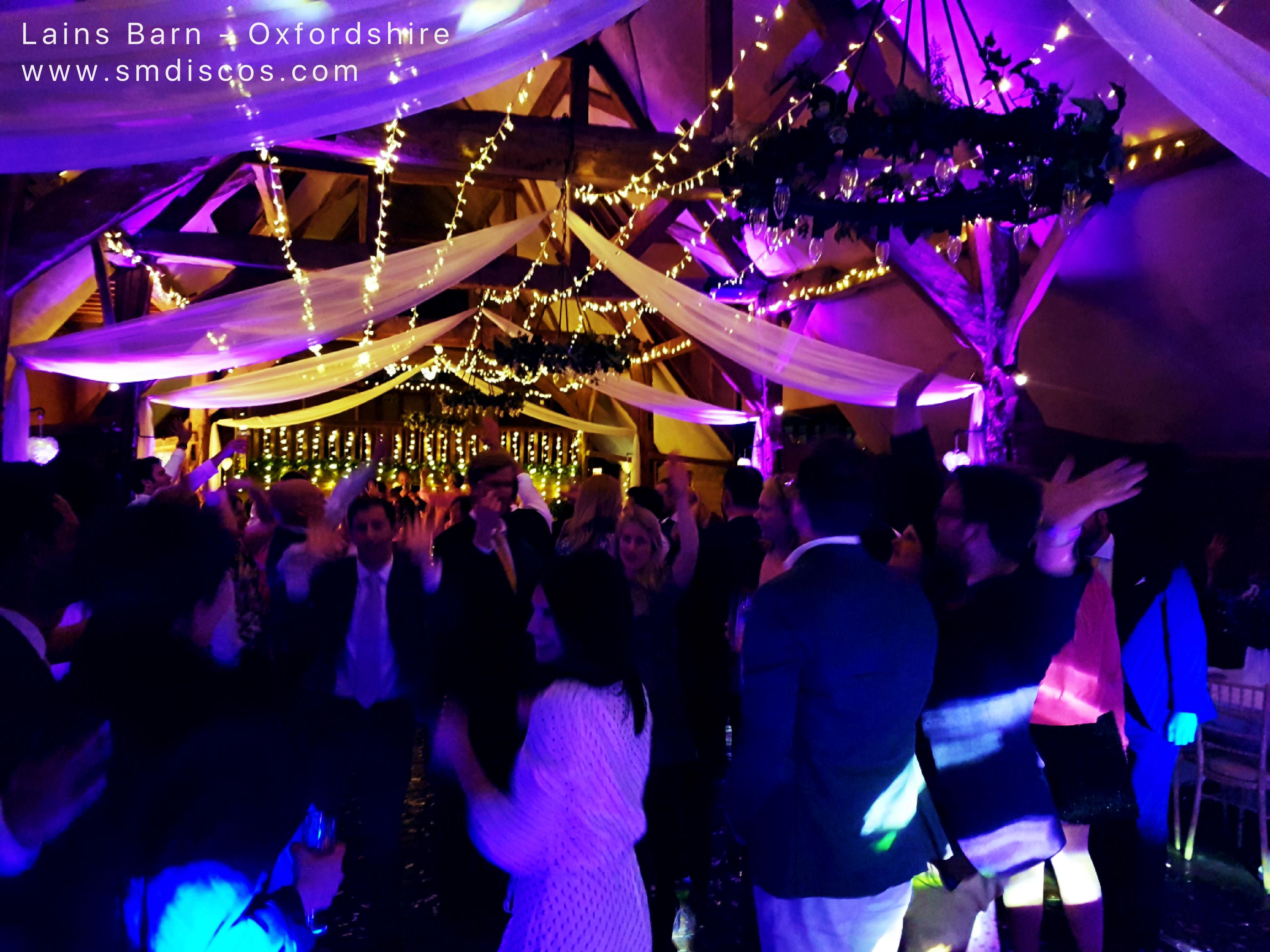 LAINS BARN WEDDING DJ