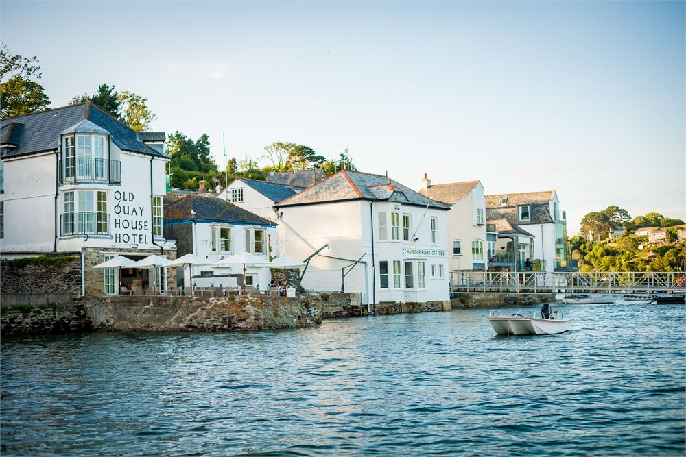The Old Quay House Hotel wedding
