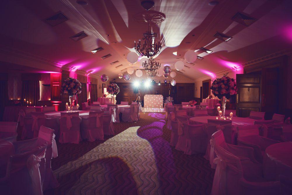 Wedding disco Pennyhill Park