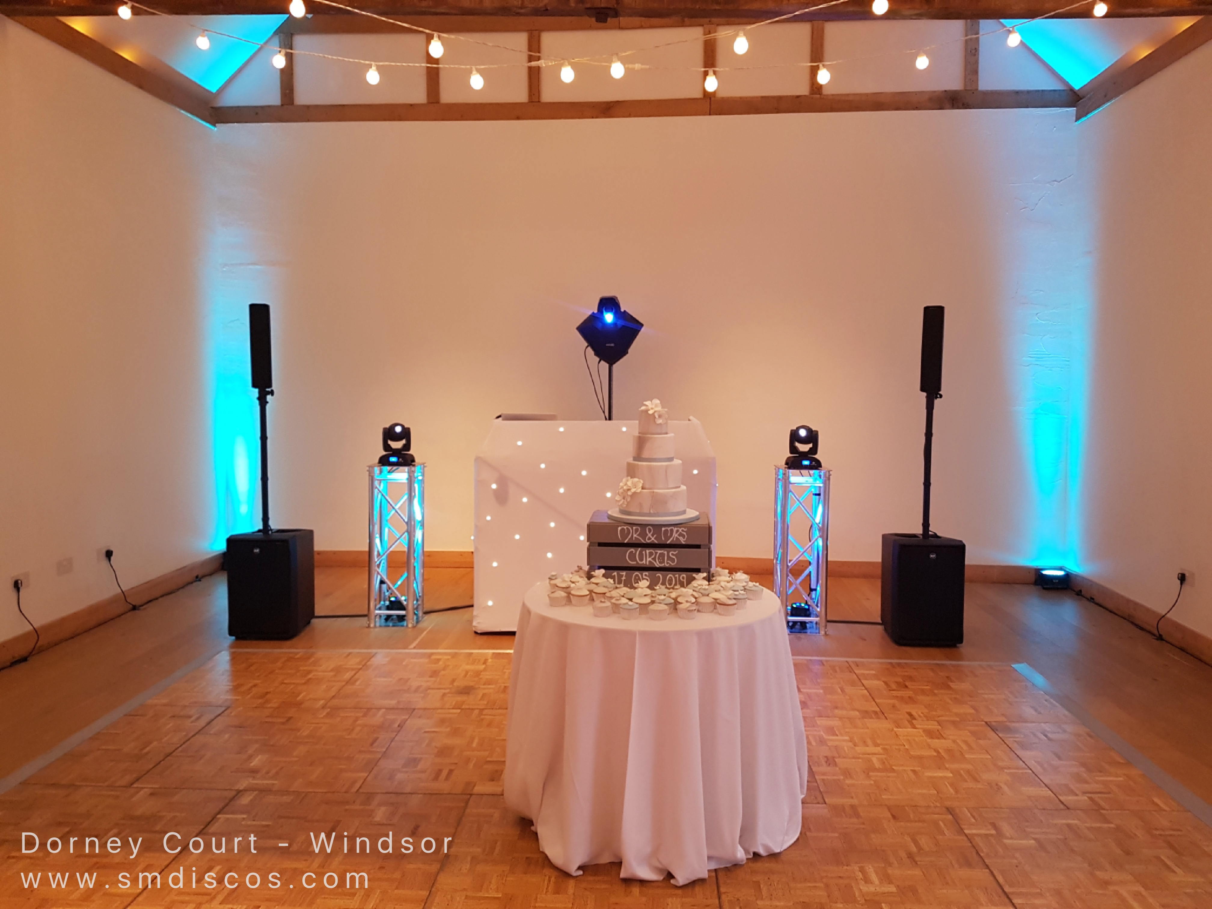 Dorney Court wedding disco