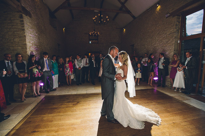 Wedding DJ at The Kingscote Barn