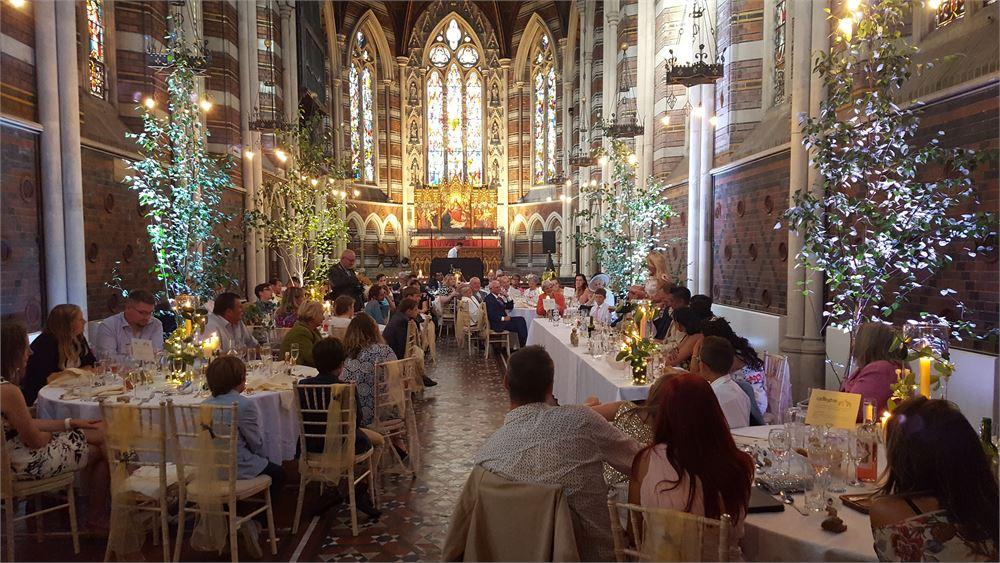 All Saints Chapel wedding djs
