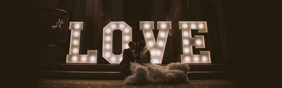 bix manor wedding lights
