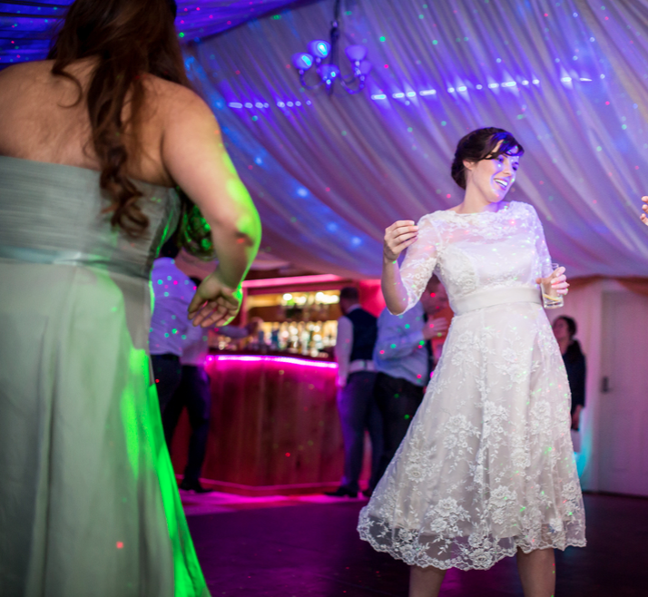 Notley Tythe Barn Wedding DJ