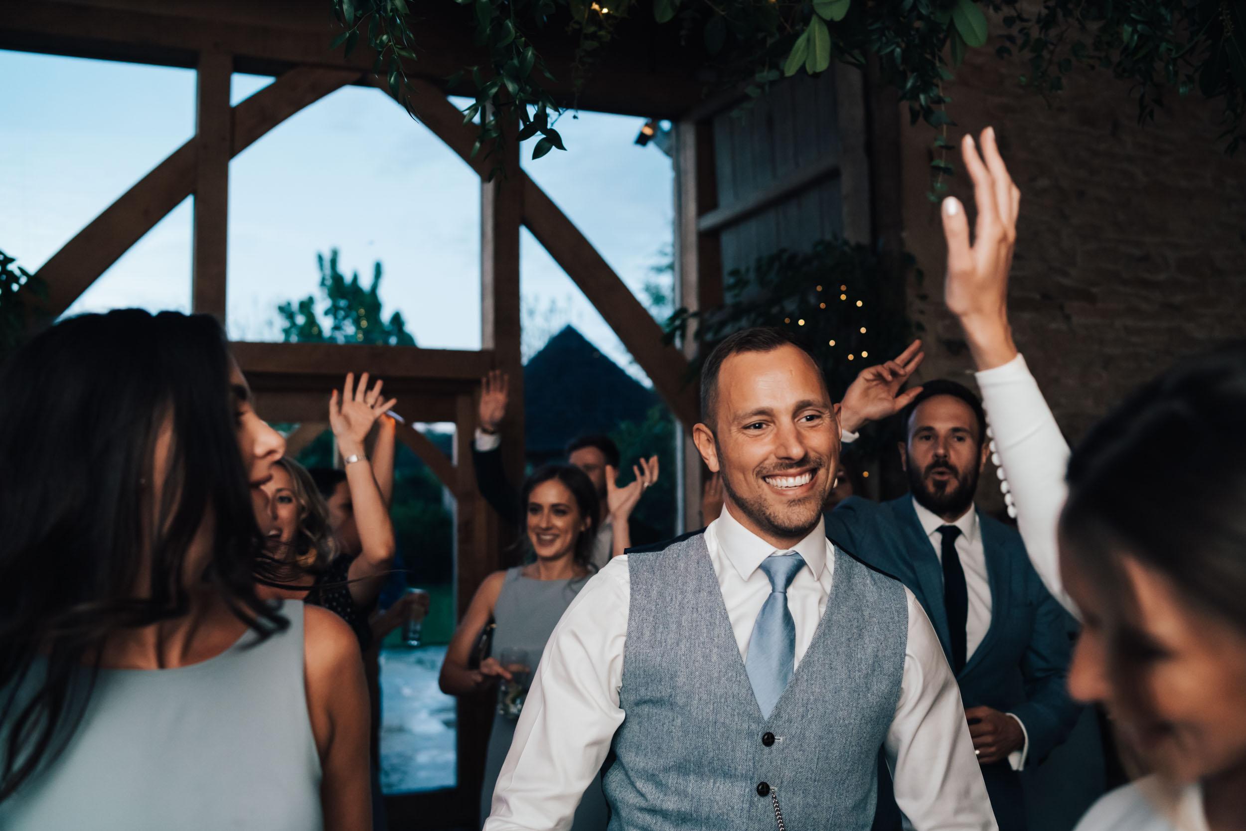 Stone Barn Cheltenham wedding Disco