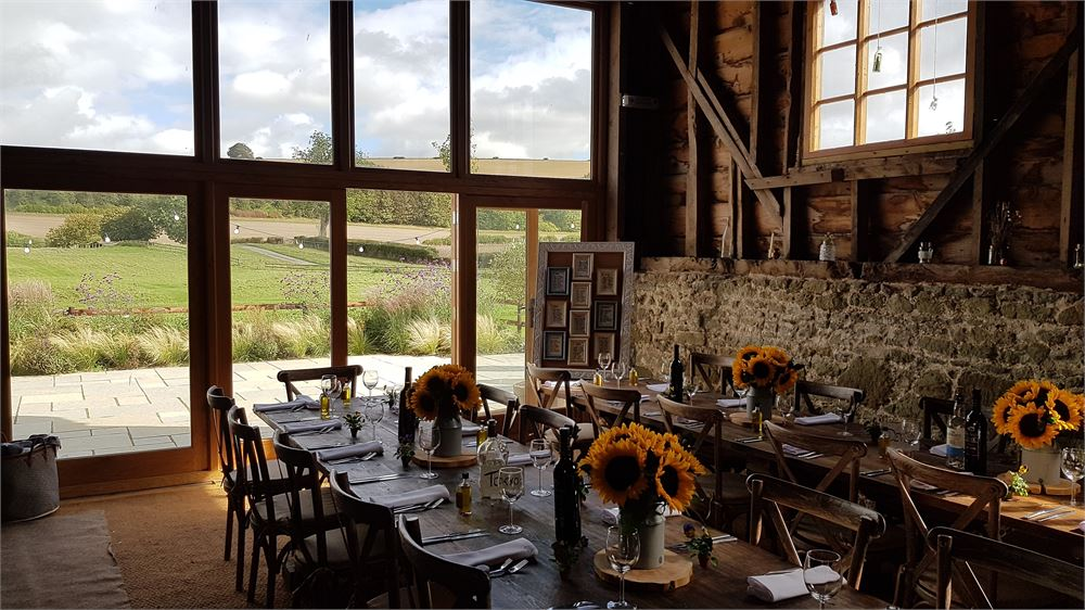 Bowerchalke Barn Wedding photo
