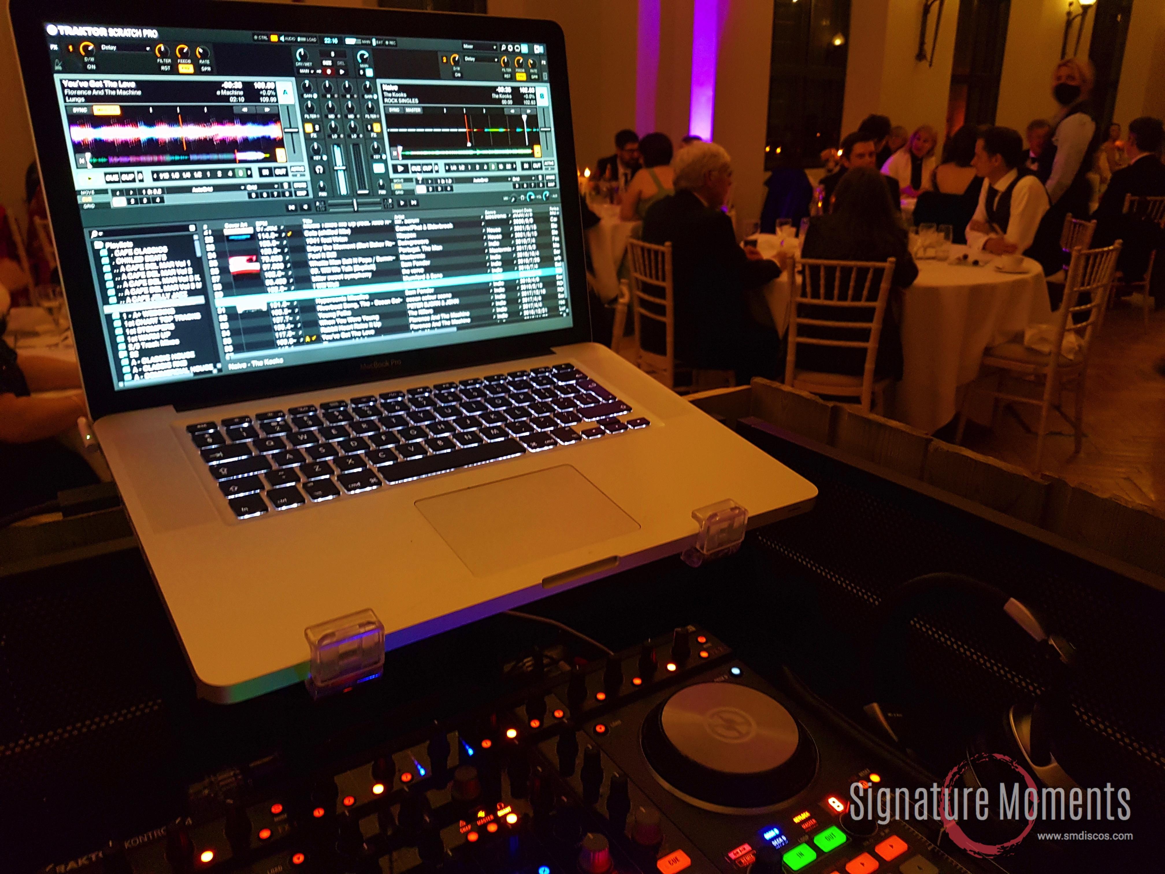 DJ hire Ashridge House