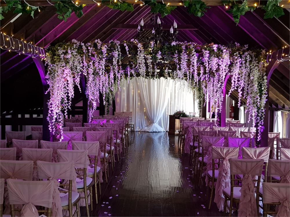 wedding and event styling at Blackstock